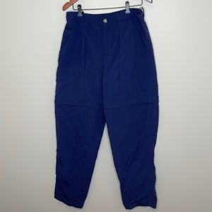 The North Face navy convertible tactical hike pant